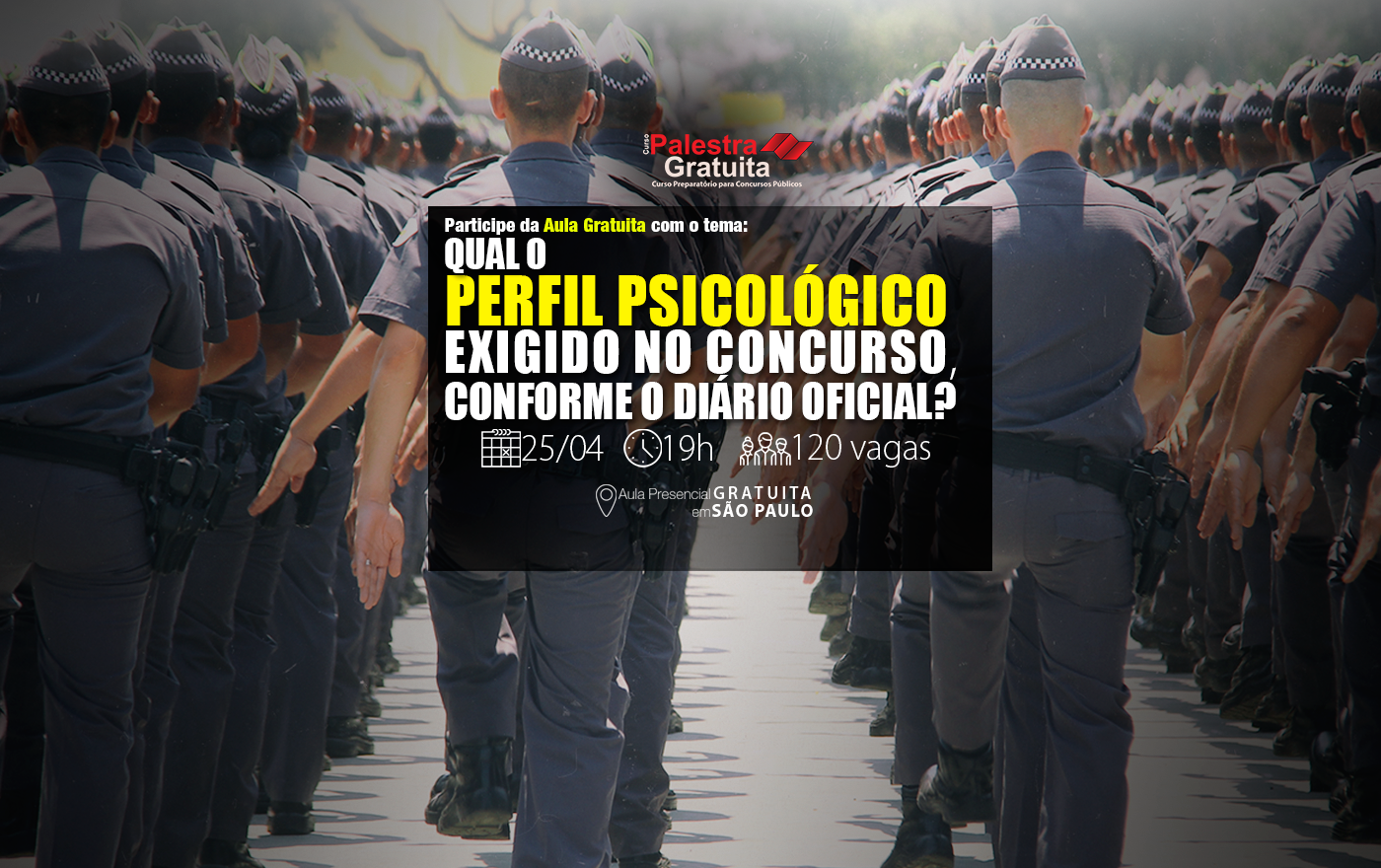 AULA GRATUITA FASE DE EXAME PSICOLOGICO
