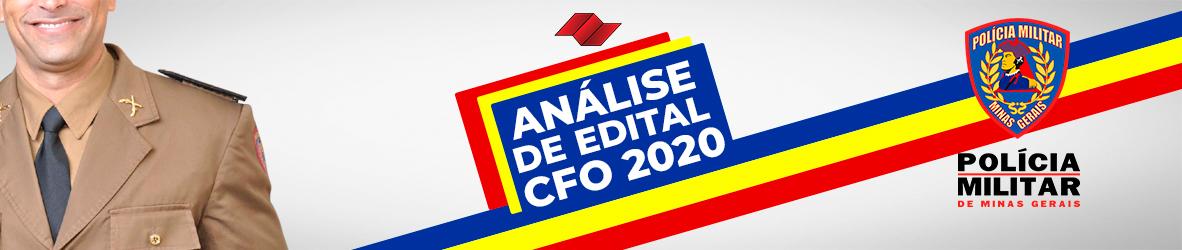 ANALISE DE EDITAL CFO-PMMG