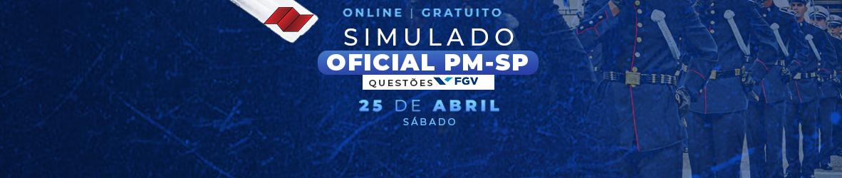 SIMULADO OFICIAL PM-SP
