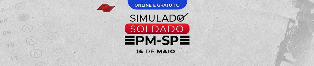 SIMULADO SOLDADO PM-SP