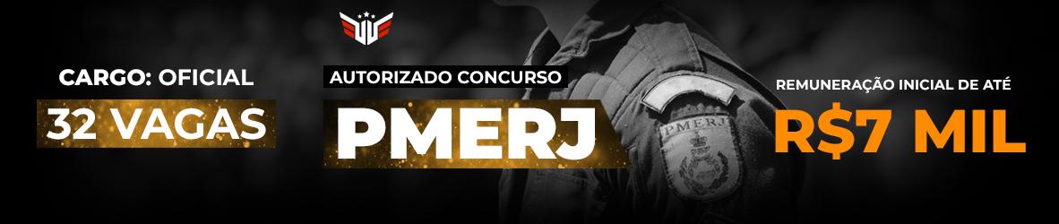 Concurso PMERJ | Edital 2020