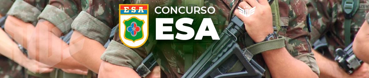 Concurso ESA | Tudo sobre o Edital