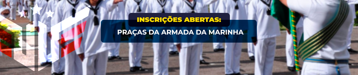 Concurso Marinha | Inscrições Abertas