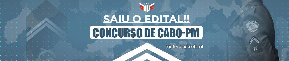 Concurso Cabo PM-SP   Análise 360°